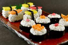 Sushi Cake Balls!  Ingenious!