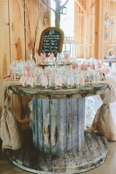 shabby chic barn wedding