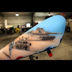 Airbrush work with the new SATA airbrush Custom Paint Motorcycle, Motorcycle Tank, Custom Airbrushing, Ride 2, Paint Stripes, Custom Paint Jobs, Airbrush Art, Art Forms, Stencil