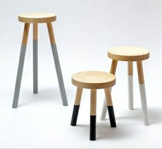 milk stool > awesome but worth $400+... Maybe not... Perhaps an ikea stool and $12 tin of paint:)