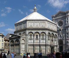 Battistero di San Giovanni XI -XIII sec., Firenze