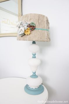 I have a milkglass lamp like this...maybe this is what it needs...