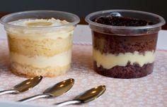 Ganhe um dinheirinho extra fazendo bolos de pote! Nesta matéria você vai aprender a fazer um pão de ló que rende 100 bolos de pote, 5 opções de recheios e