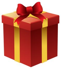 Gift Box In Red PNG Clipart Category Gifts
