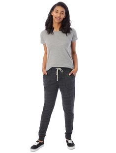 Casual & comfortable, give your jeans a break with this classic jogger. Made from our Eco-Jersey™ fabric for a soft feel crafted using organic & recycled materials. Jogger Pants, Joggers, Sweatpants, Alternative Outfits, Alternative Apparel, Sustainable Fabrics, Recycled Materials, Jeans, Classic