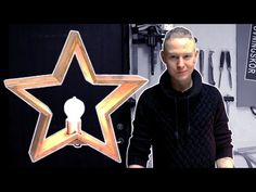 Handmade Star Lamp Out Of Wood (Christmas) - YouTube