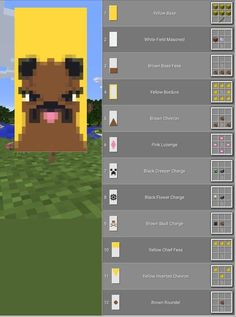 Minecraft Pug Banner - Minecraft People love Minecraft owing to 3 easy things, possession, replayability Minecraft Building Guide, Minecraft Plans, Minecraft Room, Minecraft Survival, Minecraft Tutorial, Minecraft Blueprints, Minecraft Crafts, Minecraft Houses, Minecraft Redstone Creations