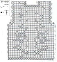 Копия (3) 00 (430x470, 82Kb) Filet Crochet, Irish Crochet, Crochet Stitches, Cute Crochet, Vintage Crochet, Crochet Flip Flops, Crochet Summer Tops, Lace Knitting Patterns, Crochet Curtains