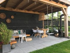 Outdoors Discover Exterior Patio Area Furniture for Great Houses Outdoor Patio Decor Backyard Patio Designs Backyard Pergola Pergola Plans Backyard Landscaping Pergola Kits Pergola Ideas Shed Patio Ideas Small Pergola Pergola Shade Garden Room, Garden Design, Pergola Designs, Outdoor Kitchen, Outdoor Decor, Outdoor Patio Decor, Patio Design