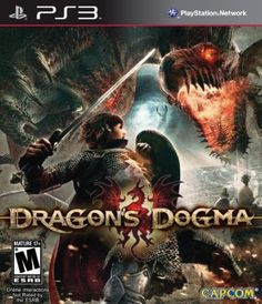 Hot New Release! Dragon's Dogma - Dragon's Dogma is an exciting new franchise which redefines the action genre from the team that produced some of Capcom's greatest action games. Set in a huge open world, Dragon's Dogma offers an exhilarating and ful Arcade, Dragons, Dragon's Dogma, Mario, Giant Bomb, Back In The 90s, Xbox 360 Games, Games Ps2, Playstation Games