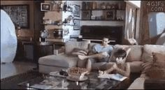 Well..that escalated quickly. Ghost gif