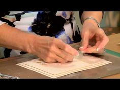 Crafting My Style With Sue Wilson - Configurations Background Card - For Creative Expressions - YouTube