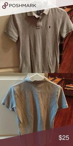 🔅BUNDLE🔅TWO Boys Ralph Lauren Polo's 2 Ralph Lauren boys size medium polo's, one blue, one gray. Both perfect condition. Will separate. $25 each or $40 for both. Ralph Lauren Shirts & Tops Polos