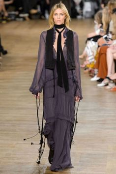 Chloe Fall 2015. See all the best runway looks from Paris Fashion Week here: