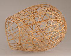 Dona Anderson  Bamboo Basket  Bamboo, Thread