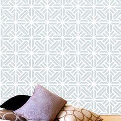 paredes con formas geometricas de colores | Decoración de paredes con formas…