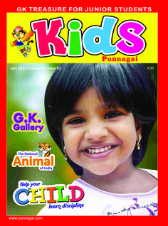 Kids Punnagai  Magazine - Buy, Subscribe, Download and Read Kids Punnagai on your iPad, iPhone, iPod Touch, Android and on the web only through Magzter