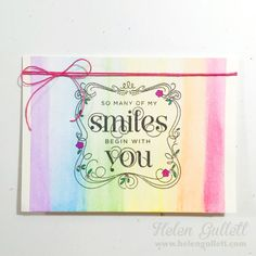 Hope You Can Cling To Challenge 2015 | http://helengullett.com/?p=7805 | Card4-HYCCT1528-Rainbows