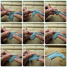 Crochet for left-handeds