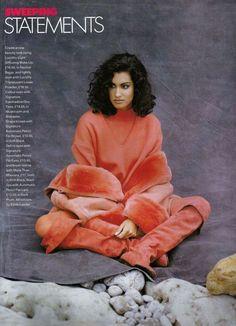 1991 Duo Tone, Long Shot, Hair Flip, Loose Powder, Fashion Boots, Supermodels, Brows, Vintage Fashion, Stylists