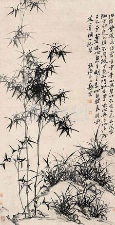 郑板桥. Zheng Xie (鄭燮) (1693–1765), commonly known as Zheng Banqiao(鄭板橋) was a Chinese painter from Jiangsu. He began life in poverty, but rose in the exam system to become a magistrate at Shandong. However, after 12 years, he became critical of the life of an official as he refused to ingratiate himself with senior officials.