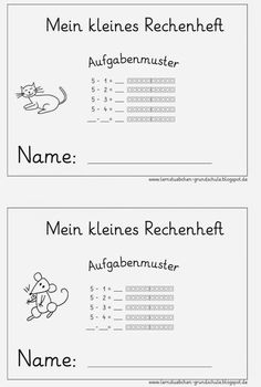 302 best Lernen - Mathematik - 1. Klasse images on Pinterest in 2018 ...
