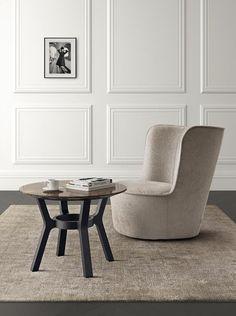 Gepolsterter Sessel aus Stoff BABY ROYALE by Casamilano Design Castello Lagravinese