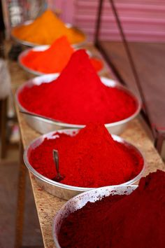 Incredible colors! #spices #food
