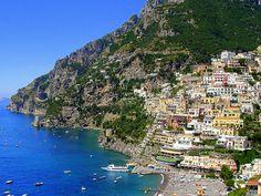 Costa Amalfitana - sur de Italia