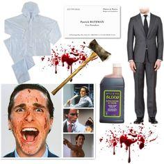 Patrick Bateman American Psycho Halloween Costume. I really want to be Patrick Bateman for halloween.