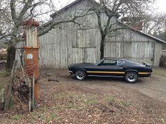 American Muscle Cars… 1969 Ford Mustang 428