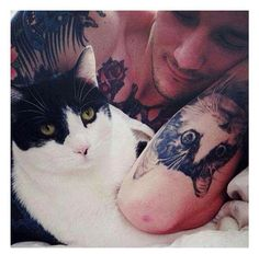 Tatuagem masculina ⚓️
