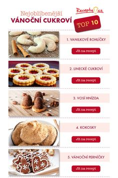 A kde vy? Christmas Goodies, Christmas Baking, Czech Food, Czech Recipes, Biscuits, French Toast, Deserts, Anna, Sweets