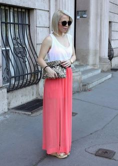 Long skirt and short hair (by Ejvi S.) http://lookbook.nu/look/3421371-long-skirt-and-short-hair