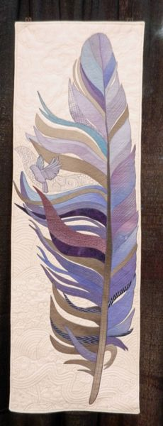 I've got more quilts for you from the Houston show. Quilting Tutorials, Quilting Projects, Southwestern Quilts, Feather Art, Thread Painting, Quilt Art, Quilt Festival, Fabric Wall Art, Sewing Art