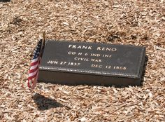 Frank Reno - Outlaw. During the Civil War federal recruiting officers paid a cash bounty to each man who signed up for military service. So the Reno brothers (Frank, John, Simeon, Clinton and William) became bounty jumpers. They joined up, took the money and then deserted from the Union Army. The Reno brothers committed the first train robbery in American history at Seymour, Indiana. It was a great success and the gang got away with $10,000.