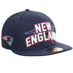 New England Patriots 2012 NFL Draft Fitted Hat - Navy Blue