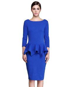 awesome Красивое платье с баской (50 фото) — Элегантные модели и тонкости выбора