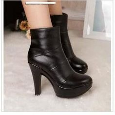 Buy 'Hannah � Genuine Leather Platform Ankle Boots' with Free International Shipping at YesStyle.com. Browse and shop for thousands of Asian fashion items from China and more!