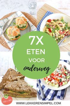 7x eten voor onderweg - Lekker en Simpel Picnic, Bbq, Brunch, Menu, Mexican, Bread, Snacks, Cooking, Ethnic Recipes