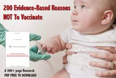 GreenMedInfo.com is giving away the full download of vaccine research linking directly to PubMed. Send the download to parents, grandparents, and doctors.  Please share!  The references link directly to the US National Library of Medicine peer-reviewed medical research.
