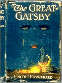 "Happy Birthday to F. Scott Fitzgerald, born on this day in The cover art for his famous novel ""The Great Gatsby"" was complete before the book itself. Fitzgerald loved it so much he decided to write it into the novel. I Love Books, Great Books, My Books, The Great Gatsby Book, Books To Read In Your 20s, Amazing Books, It's Amazing, Michel De Montaigne, American Literature"