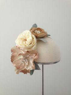 Fleurs d'été  Flower Crown  Floral Headpiece  by Katie Burley Millinery, $180.00