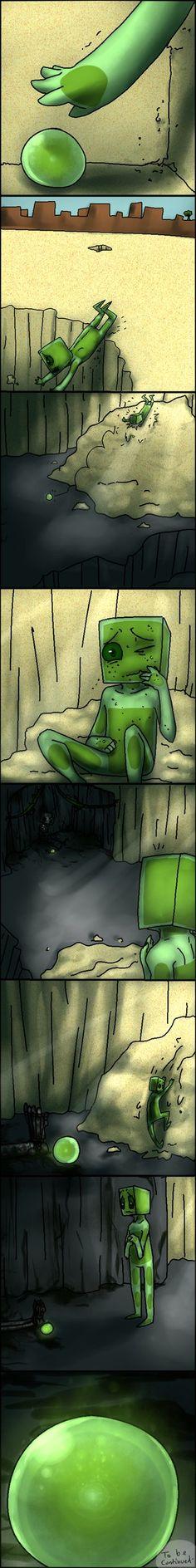 Little Enderslime - Comic 2 Part 3 by AccursedAsche on DeviantArt