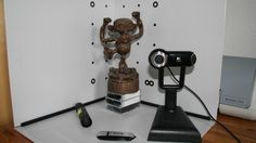 Low-cost 3D-scanning using gray scale camera, laser pen and calibration points ......