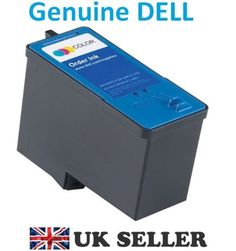 """GENUINE Original DELL Colour Ink Cartridge Series 5 High Capacity M4646 - GENUINE DELL Colour Ink Cartridge M4646 Series 5 – High Capacity – Brand NEW Sealed – The cartridge is brand new , foil sealed and is a genuine original Dell cartridge , none of this funny so called """" compatible """" stuff – Compatible with following... - http://ink-cartridges-ireland.com/genuine-original-dell-colour-ink-cartridge-series-5-high-capacity-m4646/ - (High, C"""