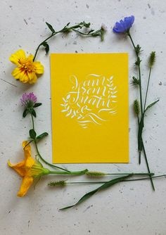 Calligraphy postcards on Behance