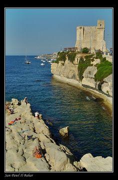 Sunbathing at the Wignacourt Tower, St Paul Bay, Malta Copyright: George Rumpler