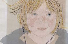 Emily Jo Gibbs is an exquisite embroidery, bringing accessories and portraits to life with her sewing skills