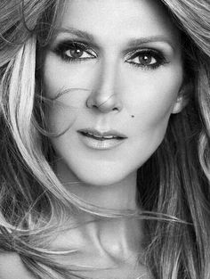 the beauty of Celine Dion, gorgeous, sparkling eyes, love the hair, singer, artist, an angel singing, admirable
